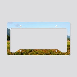 Mountains License Plate Holder