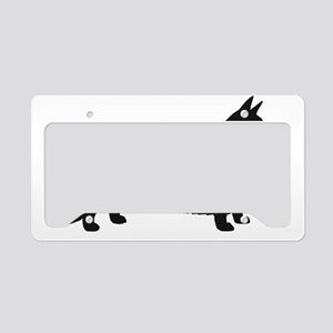 Cardigan Welsh Corgi License Plate Holder