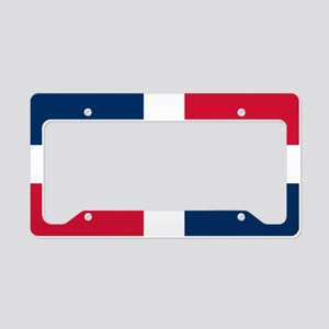 Dominican Republic License Plate Holder