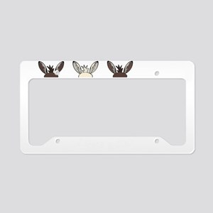 Donkeysdark License Plate Holder