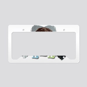 LLL puppies copy License Plate Holder