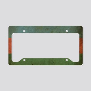 VintageAzerbaijan3 License Plate Holder