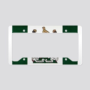 Rhodesia Flag License Plate Holder