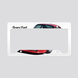 German sports cars at their b License Plate Holder