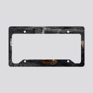 Coal mine License Plate Holder