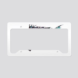 Black Sea Bass License Plate Holder