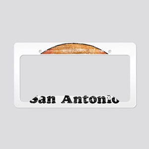 80s San Antonio License Plate Holder