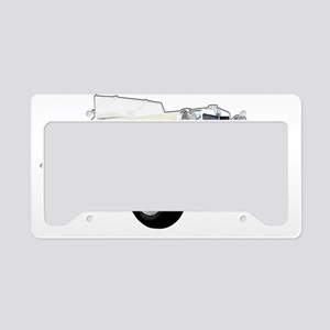 MG TD License Plate Holder
