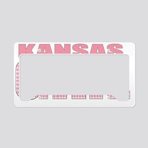 kentucky - more states License Plate Holder