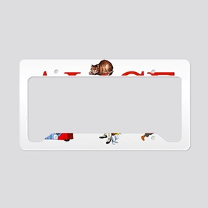 ALICE_3D_RED License Plate Holder