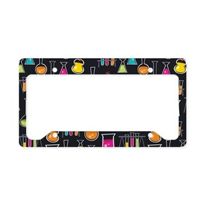 Chemistry Periodic Table Chem License Plate Holder by ... |Chemist License