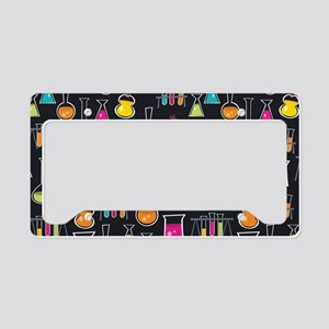 science_lab_toiletry License Plate Holder