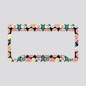 Sushi Pattern License Plate Holder