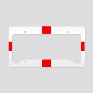 StGeorges License Plate Holder