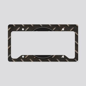 grid-iron-malt-OV License Plate Holder