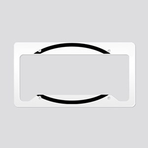 Moderate Beetle O - BW License Plate Holder