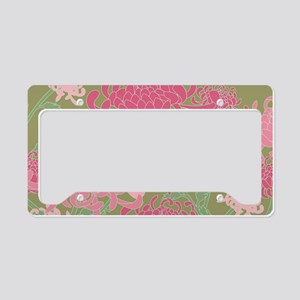 Chrysanthemums License Plate Holder