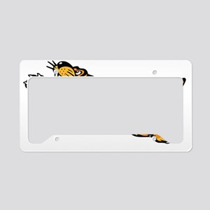 Flying Tigers WW2 Nose Art License Plate Holder