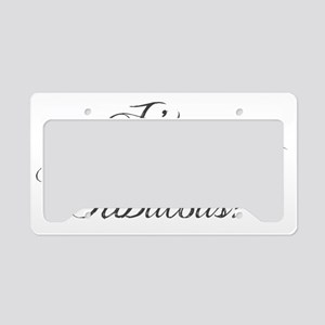 Gone with the wind fabulous License Plate Holder