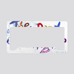 the art of kindness License Plate Holder