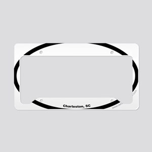 Charleston South Carolina EUR License Plate Holder