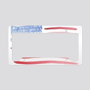Support Our Troops License Plate Holder