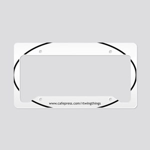 7.62x39 oval sticker PATHS.ep License Plate Holder