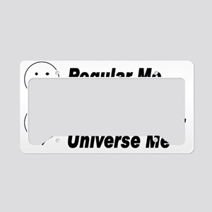 Alt Universe Me Black License Plate Holder