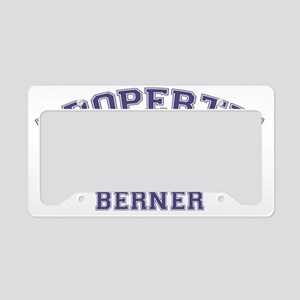 bernesemtndogproperty License Plate Holder