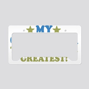 thinksgreatgrandmama-01 License Plate Holder