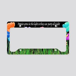 Dennis Edward Green Poppy Par License Plate Holder