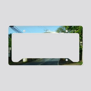 Haleiwa Bridge License Plate Holder