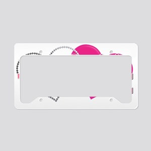 sailorvalentinehearts1 License Plate Holder