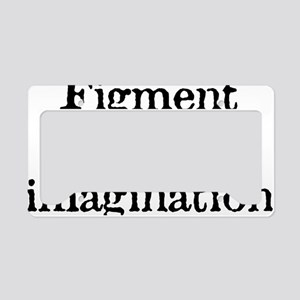 figment_white License Plate Holder