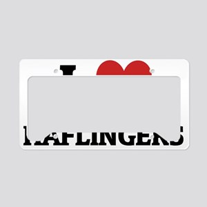 HAFLINGERS License Plate Holder