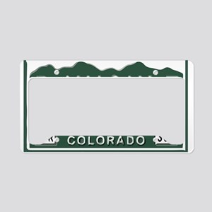 P-Nuckle Samples Colorado License Plate Holder