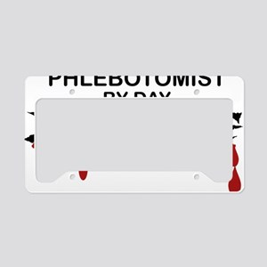 Phlebotomist Zombie License Plate Holder
