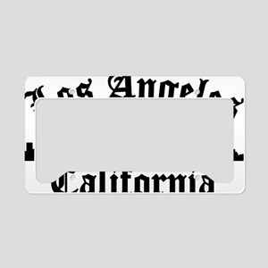 Los Angeles, CA License Plate Holder