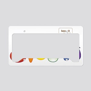 Keepitcolorful License Plate Holder
