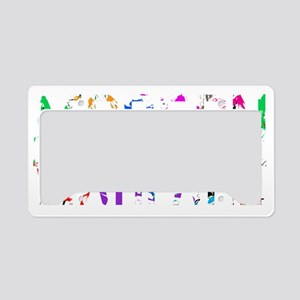Designs-Community003-02 License Plate Holder