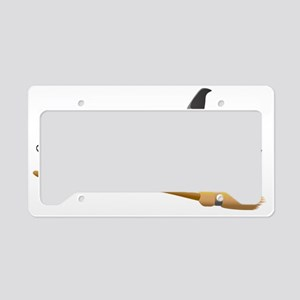 Drive a stick License Plate Holder