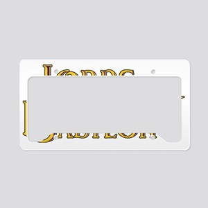 LoB License Plate Holder
