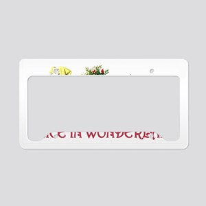 Alice  Friends 6 Red copy License Plate Holder