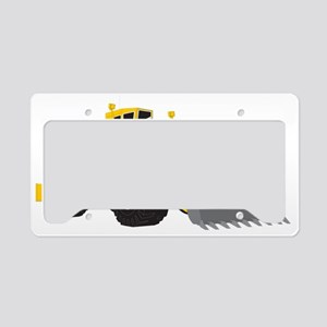 Earth Mover License Plate Holder