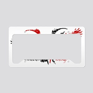 scarlet_ibis_1 License Plate Holder