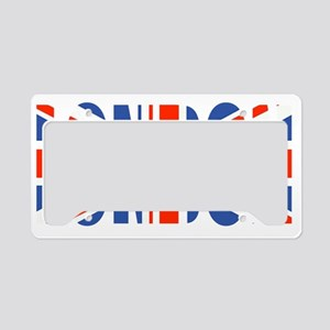 London Union Jack T License Plate Holder