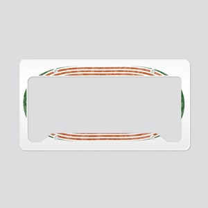 Track and Field Dad License Plate Holder