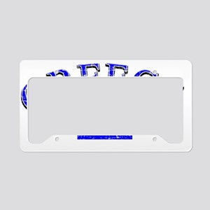 greece License Plate Holder