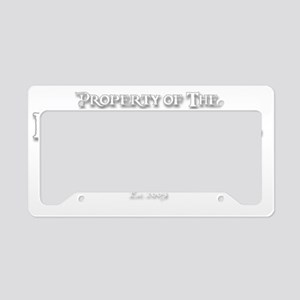 2-black pearl-d License Plate Holder
