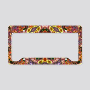 Psychedelic Kaleidoscope License Plate Holder
